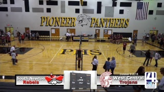 Volleyball Sectional West Central vs South Newton