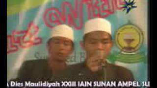Huwa  Indah  Festival Sholawat Al Banjari 2012   Faroidul Bahiyah