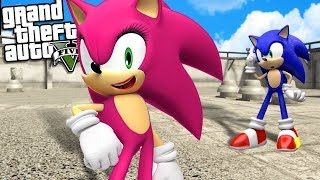 SONIC THE HEDGEHOG Finds His LOST SISTER (GTA 5 Mods)