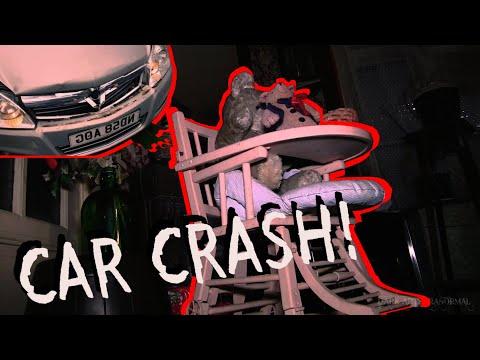 Car Crash & Creepy Abandoned House Time Capsule