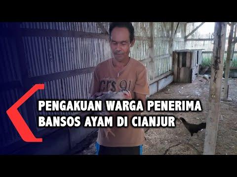 Pengakuan Warga Penerima Bansos Ayam di Cianjur