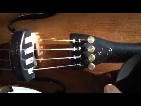 4/4 violino silencedr gomma plastica violino muto