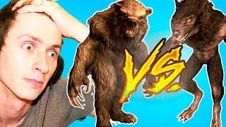 SKYRIM #95; Вервольф VS Медведь-оборотень!