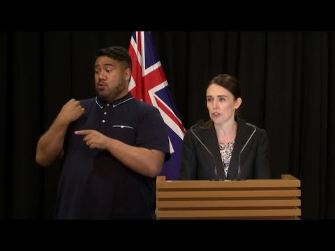 Prime Minister Jacinda Ardern says New Zealand is immediately banning sales of military style semi-automatic guns like the weapons used in the attacks on Christchurch mosques. (March 21)