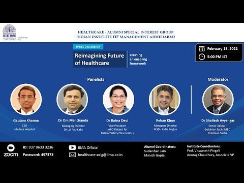Reimagining Future of Healthcare: Creating an enabling framework