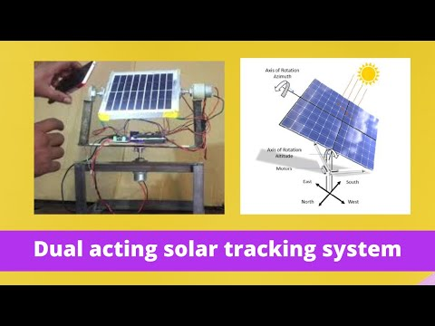 Dual Axis Solar Tracker Using Arduino - смотреть онлайн на Hah Life
