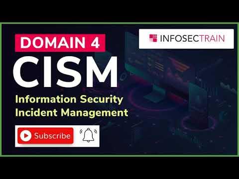 CISM Domain 4 | CISM Training & Certification