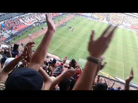 """""""La Rebel en el azteca"""" Barra: La Rebel • Club: Pumas"""