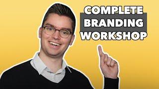 Branding Workshop - $1K Worth Of Branding Knowledge In 1 Hour!
