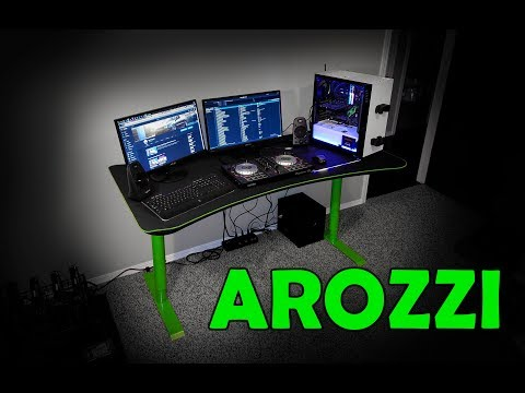 Arozzi Arena Gaming Desk Review