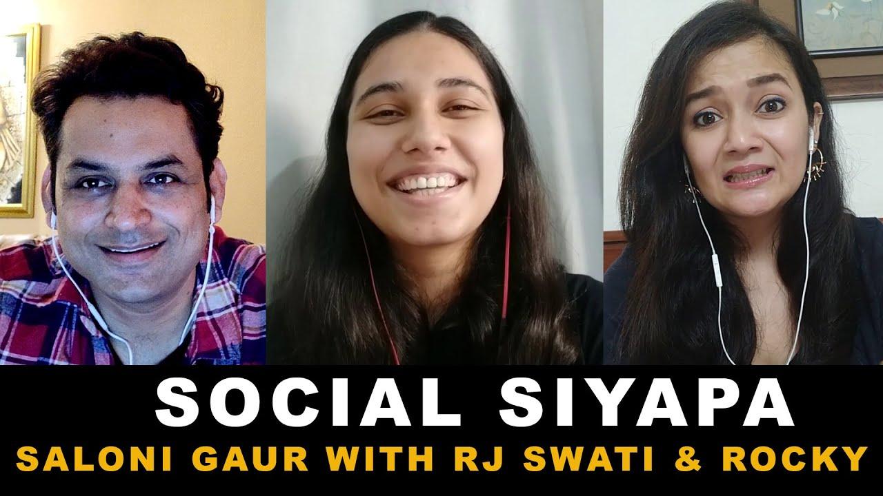 Nazma Aapi on Social Siyapa | Rj Rocky & Rj Swati