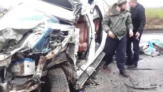 +18 Видео с места ДТП Кузьмы Скрябина. 02.02.15