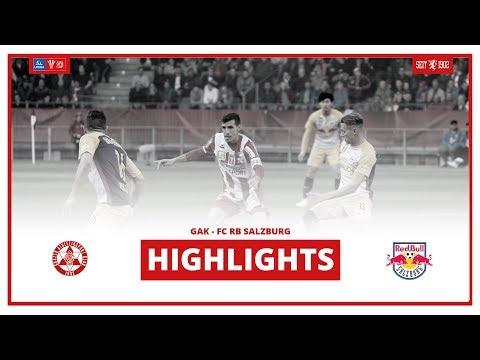 UNIQA ÖFB CUP - HALBFINALE: GAK - FC RED BULL SALZBURG