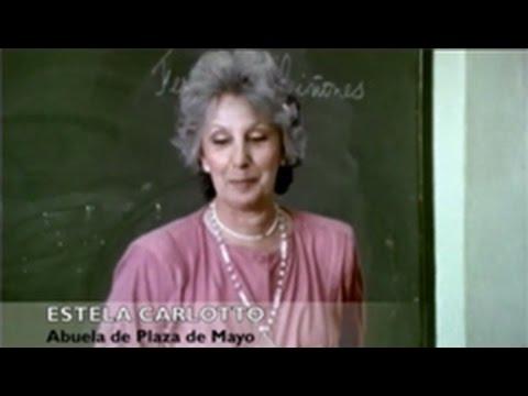 <p>Fragmento de la película documental Quién soy yo? de Estela Bravo, donde Estela de Carlotto en 1986 les habla a alumnos de primaria, compañeros de la nieta restituida Tatiana Ruarte Britos.<br></p>