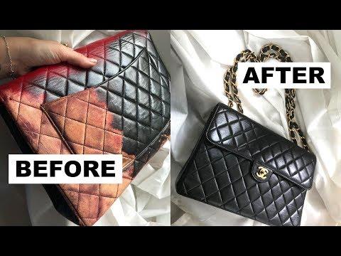 Restoring Vintage Chanel Bags