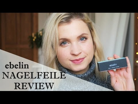 EBELIN 4-in-1 NAGELFEILE REVIEW - FIRST IMPRESSION│LenaHillOnTour