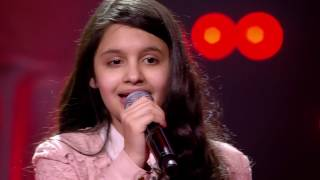 Katarina - 'I Have Nothing' | Blind Auditions | The Voice Kids | VTM