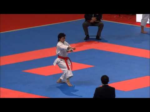 Kata KOSHOKUN SHO by Rika Usami - 21st WKF World Karate Championships
