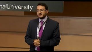 يمان ابوجيب الفائز بالموسم السابع يتحدث في TedxArabinternationalUniversity عن ال