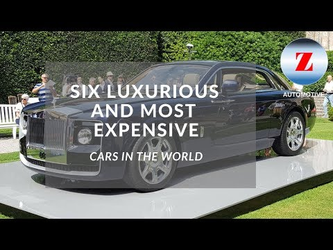 Luxurious And Most Expensive Cars In The World