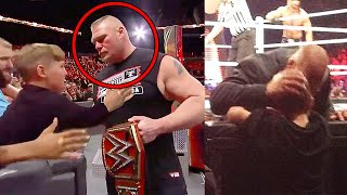 10 Shocking Moments WWE Wrestlers Went OFF SCRIPT!
