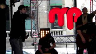 Big Wheels (Acoustic) by Down With Webster @ Musique Plus 04/02/2011
