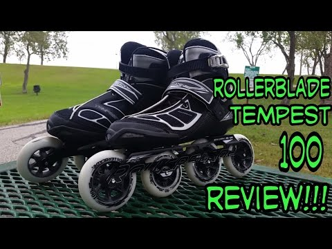 #96 Rollerblade Tempest 100 review!!! (Narrated)