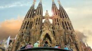 preview picture of video 'Basílica Sagrada familia de Gaudí. Barcelona. EcoDaisy'