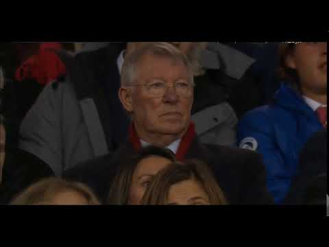 Sir Alex Ferguson reaction in match vs Tottenham (Man United vs Tottenham 2-1 2019)