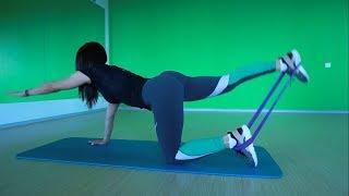 Упражнения с мини петлями для девушек с Сорокиной Наталией