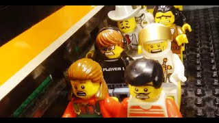 Lego - Train vs Dino 2 (Jurassic Track)