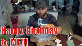 Happy BIRTHDAY To ME!! Getting the best camera ~ GOPRO HERO4 Silver from a fan!