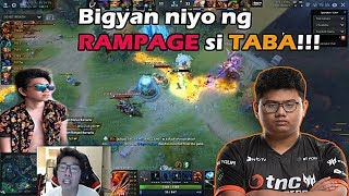 KUKU Bigyan ng RAMPAGE si TABA! Game 2 Philippines vs China WESG FINALS