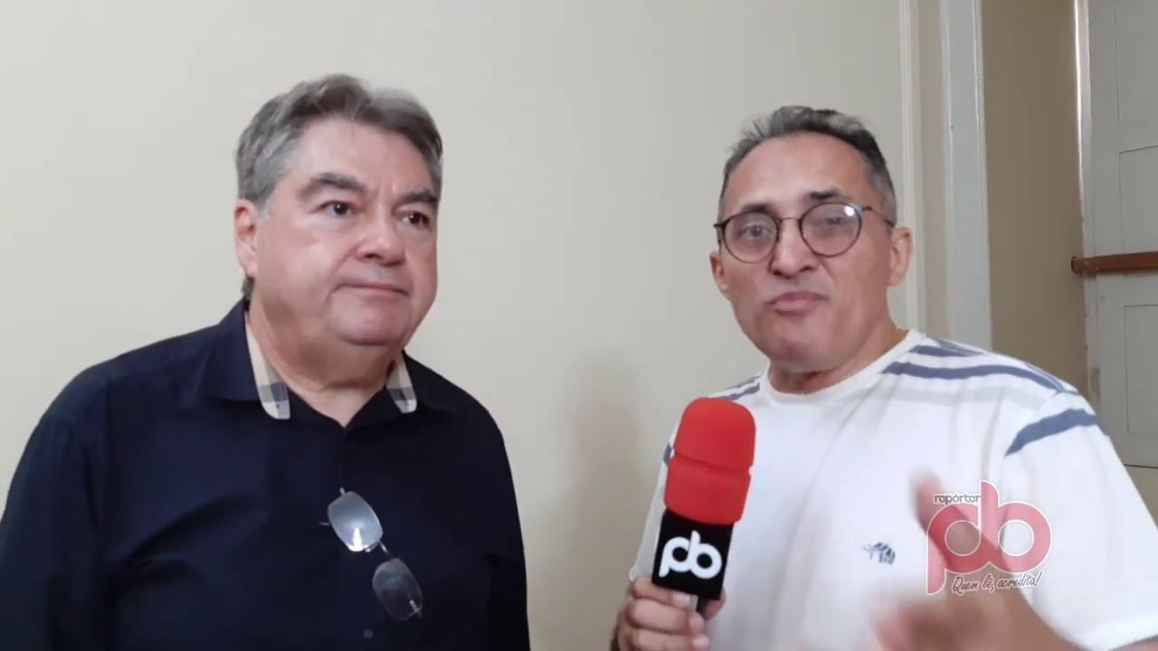 Lindolfo anuncia destrave do Projeto da IPHAEP, liberação de R$ 5 milhões para asfalto, e Poço Artesiano, e Ponte das Pedrinhas em Sousa