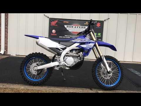 2019 Yamaha YZ450FX in Greenville, North Carolina - Video 1
