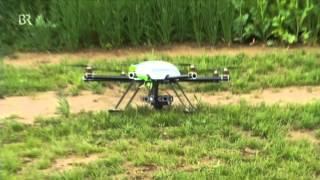 preview picture of video 'Saaten-Union: Versuchsstation Moosburg setzt auf Drohnen'
