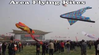 preview picture of video 'Weifang - Qingdao 2011 Festival Kite 2011 China'