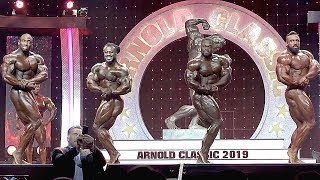 2019 Arnold Classic Finals - Top 4 Video Comparison!