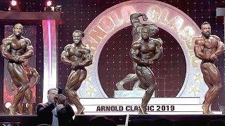 2019 Arnold Classic Finals - Top 4 Video Comparison!