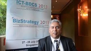 Dr. Fawzi Benmessaoud at ICT-BDCS Conference 2015 by GSTF