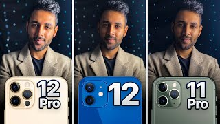 iPhone 12 Pro vs iPhone 12 vs iPhone 11 Pro Camera Test Comparison