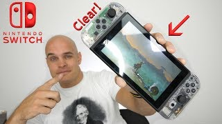 Nintendo Switch CLEAR EDITION! - DIY Transparent Switch