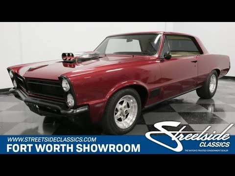 Video of 1965 Pontiac LeMans located in Ft Worth Texas - $37,995.00 Offered by Streetside Classics - Dallas / Fort Worth - Q507