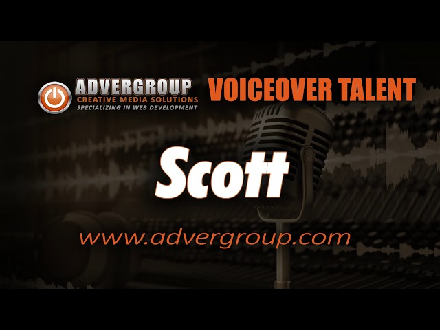 SCOTT Male VOICEOVER ..