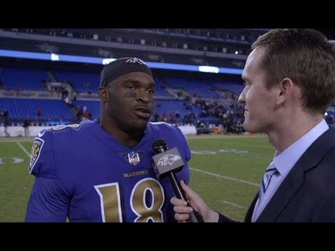 Breshad Perriman Reacts To First Career TD | Walk-Off Interview | Baltimore Ravens
