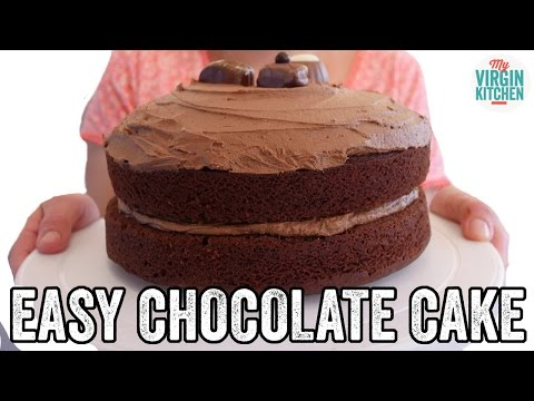 Video EASY CHOCOLATE CAKE RECIPE
