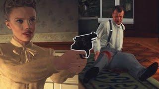 L.A Noire #17: BỊ GÁI ĐẸP BẮN TRÚNG TRYM