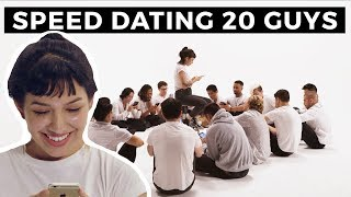 20 vs 1: Speed Dating 20 Guys   Jubilee x Solfa