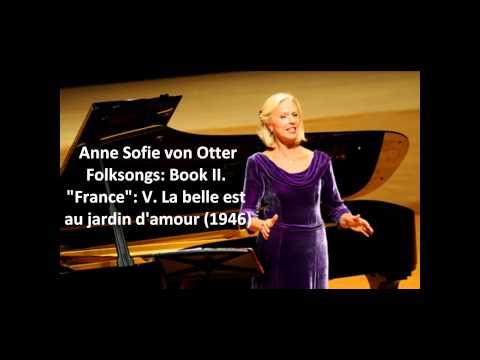 La belle est au jardin d'amour, for voice & piano (Folk Songs, Vol. II) cover