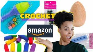 Crochet Amazon Haul! Ergonomic Crochet Hooks That Are Detachable?